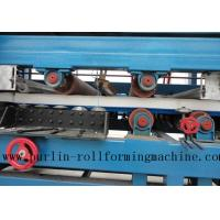 Quality Colored Steel PU Sandwich Panel Production Line , Roof Panel Roll Forming Machine wholesale
