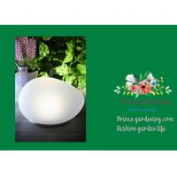 Quality Outdoor Solar Garden Lights , LED Solar Stone Light 16.8 x 14.5 x 10.7cm wholesale