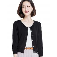Quality Button Down Womens Long Cardigans Summer Short Cardigan Sweaters Lightweight wholesale