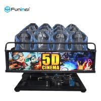Quality 6 DOF Movement 5d Cinema Theater 8D / 9D / Xd Cinema Electric System / Hydraulic wholesale