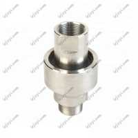 Quality Stainless steel high pressure rotary joint for hydraulic oil and water BSP threaded connection wholesale