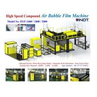 Cheap 1200 - 2000mm Width PE Air Bubble Film Machine With Back Unwinder Station - air for sale
