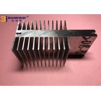 Quality High Durability Heat Sink Aluminum Profiles Silver Anodizing Surface Treatment wholesale