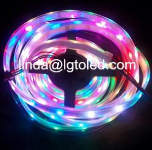 China DMX RGB led strip lamp Magic color DC5V on sale