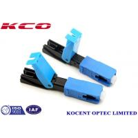 Buy cheap Quick Connector 2.0mm 3.0mm FTTX  SC /UPC , Field Assembly Connector from wholesalers