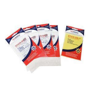 China High Quality Eco Friendly Clear Plastic Printed Opp Adhesive Self-adhesive seal cardboard header bag on sale