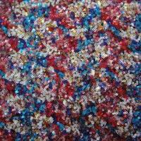 Quality Lace Fabric, Sequins Embroidery on Tulle, Can Make Many Colors wholesale
