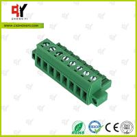Quality PA66 Material Connector Plug in Terminal Block 0.4Nm Torque  2.5mm² wholesale
