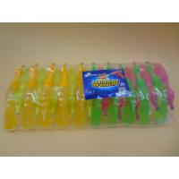 Quality Plastic Gum Novelty Healthier Liquid Sour Candy For Little Girls / Boys wholesale