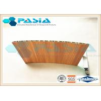 Quality Wood Veneer Honeycomb Composite Panels Yacht Wall Use Corrosion Resistant wholesale