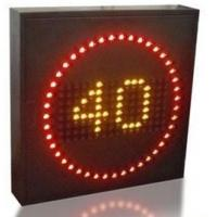 Quality Variable Speed Limit Signs Energy Saving , Endurable Highways Led Street Signs wholesale