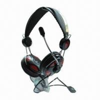 China New Metallic Headset, Perfect for Listening Music, Chating and Video Games Online on sale
