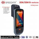 Quality Mobile Data Collection Handheld RFID Reader 125KHZ Fingerprint Reader Android wholesale
