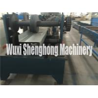 Quality Intelligent C Z Purlin Roll Forming Machine With Gearbox Driven And Shaft wholesale
