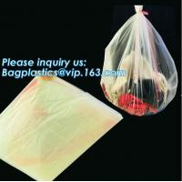 Quality PVA Water Soluble Laundry Bag Infectious Waste Plastic Biodegradable bags, hot water soluble laundry bag, bagease, pac wholesale