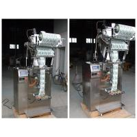 Quality 304 Stainless Steel Vertical Filling And Sealing Machine / Sachet Packing Machine wholesale