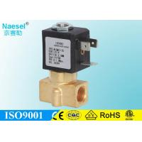 China Medical Equipment Small Solenoid Valve , Fluid Control 2 Port Two Way Solenoid Valve on sale