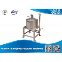 Quality High Efficient 2.5T 7 DCA Manual Magnetic Separator For Grinding Machine wholesale