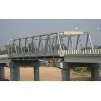 Quality High Stiffness Steel Truss Bridge Professional With Double lanes wholesale