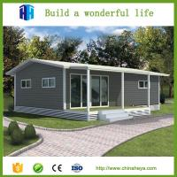 Quality low cost warehouse EPS/rockwool insulation prefab steel container vila house wholesale