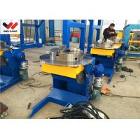Quality Welding Positioner / Turntabiler le With Overturning Device And Working Table For Engineering Machining wholesale
