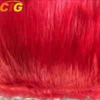 Buy cheap New Product Long Hairs Plain Faux / Synthetic Fur Fabric for Sofa and Car Seat Cover from wholesalers