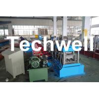 Cheap C Section Channel Roll Forming Machine with Gearbox Drive for Making Steel C for sale