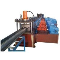 Quality 3 Waves Highway Guardrail Roll Forming Machine Use Universal Coupling Export to Poland European Countries wholesale