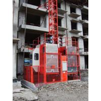 Quality 0-96m/min Lifting Speed Frequency Conversion Construction Hoist Smoother Ride wholesale