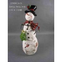Quality Christmas Gift- Snowman With Christmas Tree Decoration wholesale