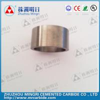 Cheap Grade YG22C Tungsten Carbide Roller Rings good wear resistance and bending strength for sale