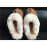 Buy cheap Ladies Countess Sheepskin Slippers Chestnut Deluxe Ladies Sheepskin slipper from wholesalers