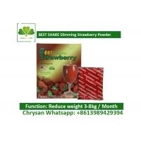Quality Strawberry Powder Weight Loss Fruit Juice BESTSHARE For Slimming SGS Approved wholesale