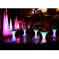 Quality Colorful Inflatable Cone , Light Cylindrical Inflatable Pillar For Party Decoration Show wholesale