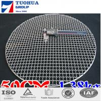 China Stainless Steel Round / Squareness BBQ Grill Wire Mesh on sale