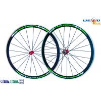 """Cheap Road Bike 700c 38mm Aluminum Bicycle Wheels AA6063 T5 Customized Size 12"""" to 22"""" for sale"""