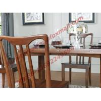Cheap Can Folding and Opening Dining table in Solid Wooden Dining Room Set for sale