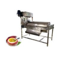 industrial automatic passion fruit pulp centrifugal seperates processing machine