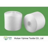 Quality 2/60S Plastic Cone Spun Type High Tenacity Bright Virgin Polyester Yarn High Twist For Sewing Thread wholesale