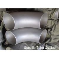 Quality 1/2'' - 80'' Stainless Steel Pipe Fittings Seamless Short Radius 90 Degree Elbow wholesale
