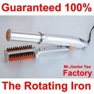 Quality New Rotating Hot Iron Hair Straightener wholesale