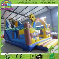 Quality Inflatable Playground Large Inflatable Slide Playground Slide Bouncer Game wholesale