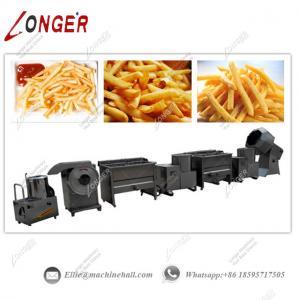 Quality Semi-automatic Potato Chips Production Line Potato Chips Machine Price French Fries Making Machine wholesale