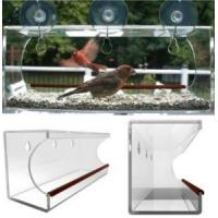 Quality window bird feeder/clear window bird feeder/acrylic window bird feeder wholesale