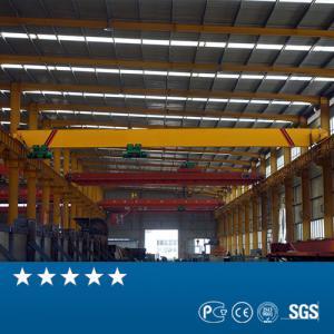 China Single Girder Overhead Travelling Crane , 6T 8T 12T Indoor Overhead Crane on sale
