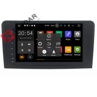 Quality Built In GPS Android Auto Car Stereo For Mercedes Ml Navigation Split Screen Support wholesale