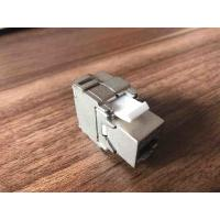 Buy cheap FTP Cat6 Punch Down Keystone Jack RJ45 180 Degree Metallic Color OEM / ODM from wholesalers