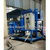 Site Portable Vacuum Oil Purifier waste lubricating oil, hydraulic oil, turbine oil purifying , oil recycling onsite use
