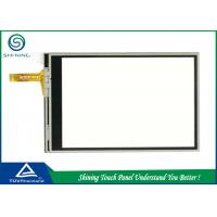 Quality Film Glass 7 Inch 4 Wire Resistive Touch Screen PanelHigh Sensitivity wholesale