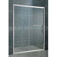 China Round Handle Homebase Shower Screen / Straight One Sliding Steam Shower Enclosure on sale